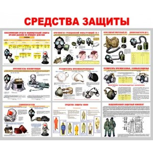 """Стенд """"Средства защиты"""""""