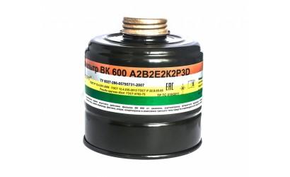 Фильтр ВК 600 марки А2B2E2K2P3D