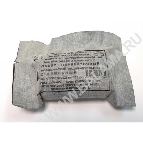 Пакет перевязочный медицинский ППМ (ИПП-1)