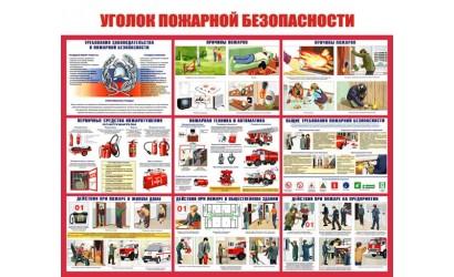 стенды по пожарной Безопасности (6)