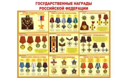 "Стенд ""Государственные награды РФ"""