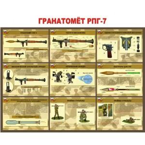 "Стенд ""Гранатомет РПГ-7"""