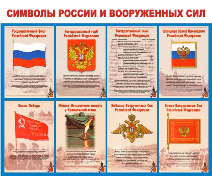 Символы России и Вооруженных Сил